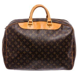 Louis Vuitton Monogram Alize 24  Heures Bag